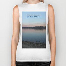 t-shirt nature print Biker Tank