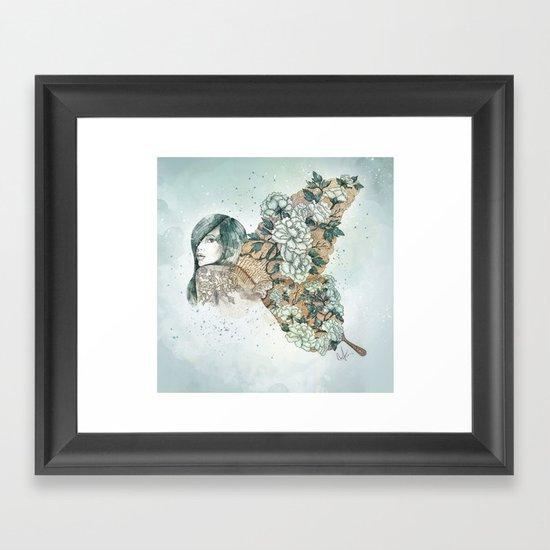 It's growing on me Framed Art Print