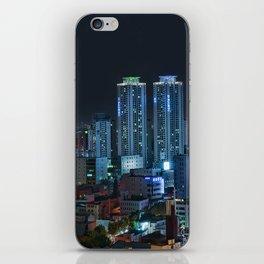 Daegu at Night iPhone Skin