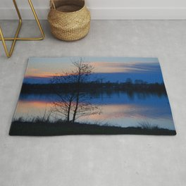 Water reflection Rug