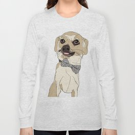 Chihuahua with Bow Tie Long Sleeve T-shirt