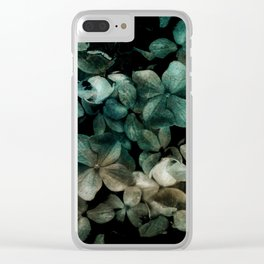 Flowers pattern - v2 Clear iPhone Case
