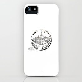 City in a Glass Ball iPhone Case