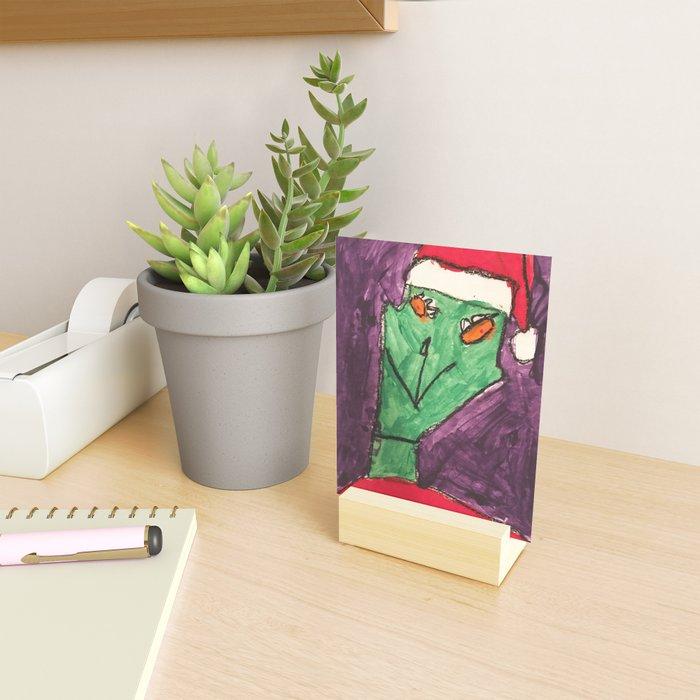 The Grinch Mini Art Print