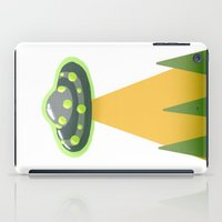 i want to believe iPad Cases featuring I Want To Believe by molmcintosh