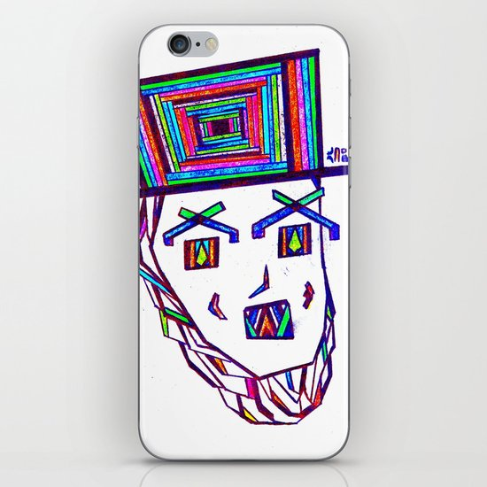 Colored Lincoln iPhone & iPod Skin