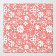 Dia en rosa Canvas Print