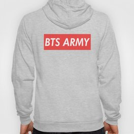 BTS ARMY red Hoody
