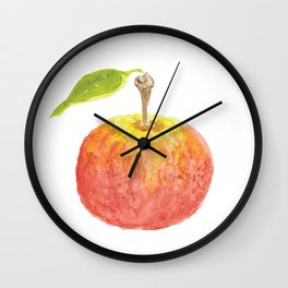 The Perfect Apple Wall Clock