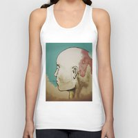 human Tank Tops featuring Human by Tyler Hayes