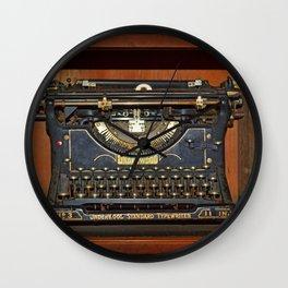Typewriter2 Wall Clock
