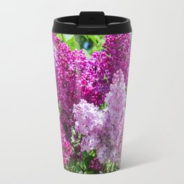 Fragrant lilac bush. Travel Mug
