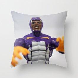 Bad Man Throw Pillow