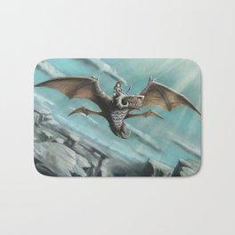 Dragon Rider Bath Mat