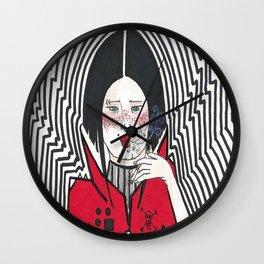 The Sad Bowie Fan  Wall Clock