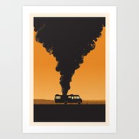 cooking Art Prints featuring Cooking by Jonathan Hogan