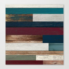 All of the Wood Planks Canvas Print