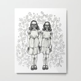 Play With Us Danny Metal Print