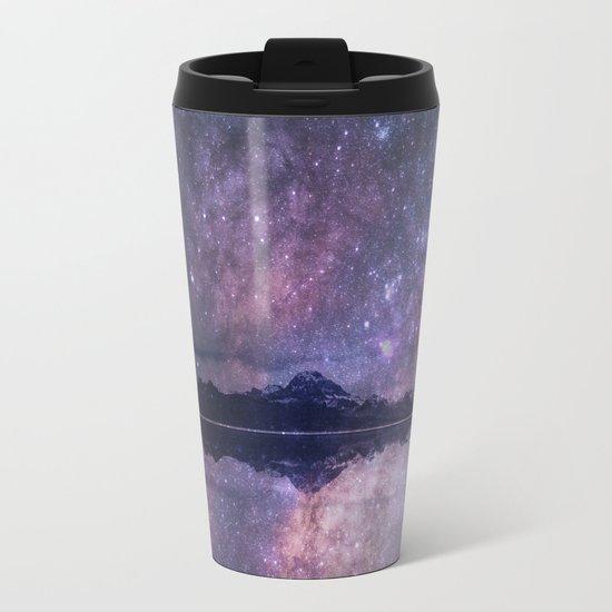 Space and time Metal Travel Mug