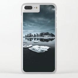 Only pieces left Clear iPhone Case