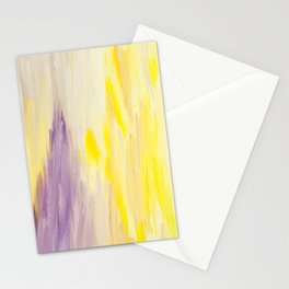 Radiant Abstract Stationery Cards