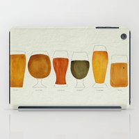 beer iPad Cases featuring Beer by Cat Coquillette