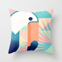Toucan 2 Throw Pillow
