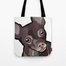 Taco T. Man (Chihuahua) Tote Bag
