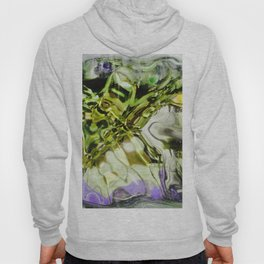 432 - abstract glass design Hoody