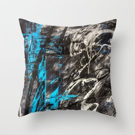 Areus, an abstract Throw Pillow