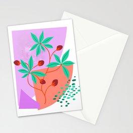 Mild plant Stationery Cards