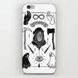 Deathless iPhone Skin