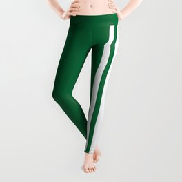Green Racer Leggings