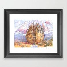 La Citta' Sferica Framed Art Print