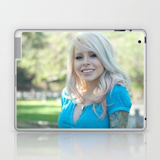 Girl Next Door Laptop & iPad Skin