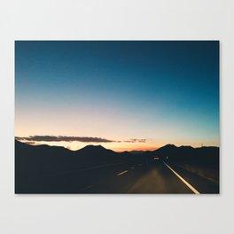 Road to Horizon, Arizona Canvas Print