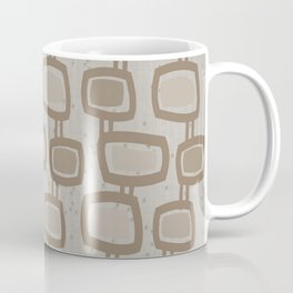 Dangling Rectangles in Brown Coffee Mug