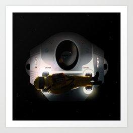Open the pod bay doors HAL Art Print