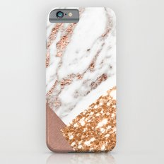 Layers of rose gold Slim Case iPhone 6s