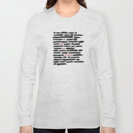 We are our silence Long Sleeve T-shirt