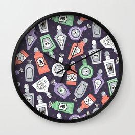 Potion Bottles Wall Clock