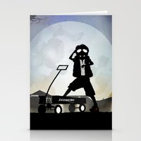 mcfly Stationery Cards featuring McFly Kid by Andy Fairhurst Art
