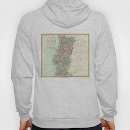 Vintage Map of Portugal (1801) Hoody