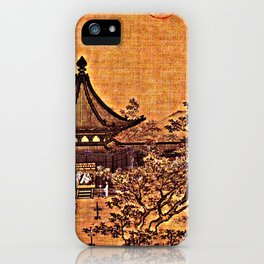 Waiting for Guests by Lamplight - Circa 1250 iPhone Case