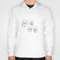 no face Hoodies featuring Face by Etiquette