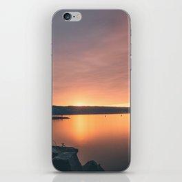Seneca Lake Sunset iPhone Skin
