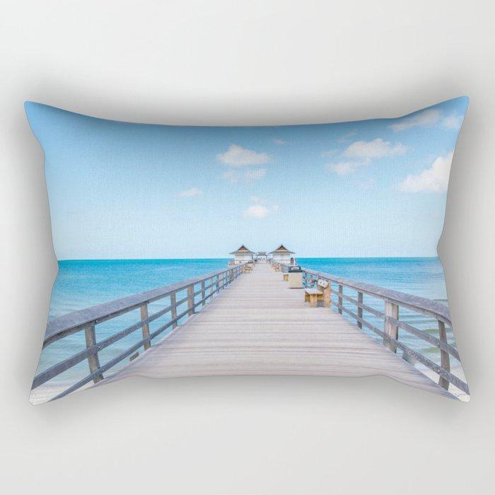 On the Pier Rectangular Pillow