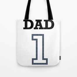 Dad 1 Child Funny Father Day Gift Tote Bag