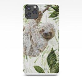 Baby Sloth Just Hangin' Around iPhone Case