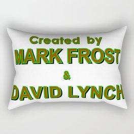 david lynch & mark frost Rectangular Pillow